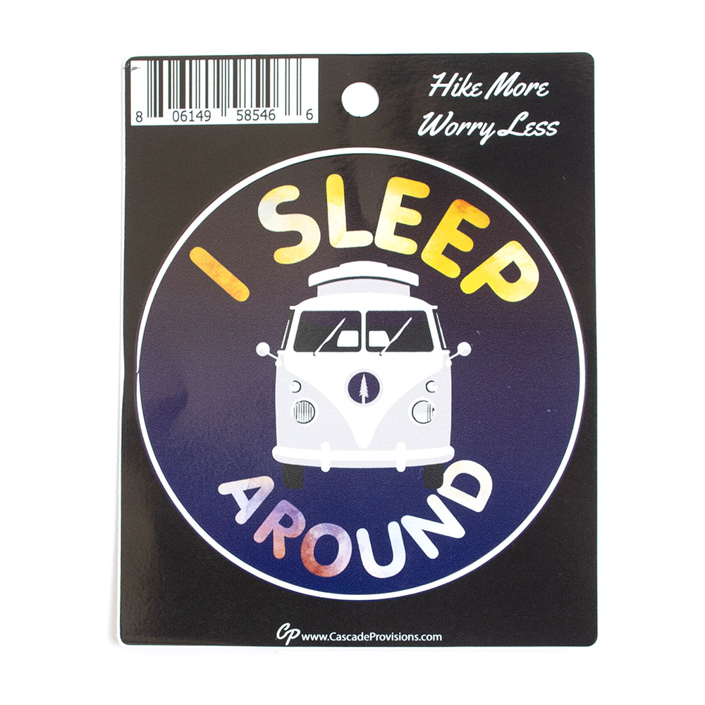 Sticker, I Sleep Around